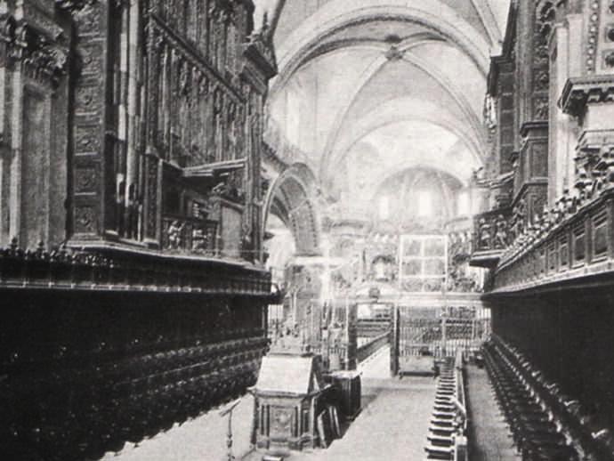Antigua nave de la Catedral de Valencia.