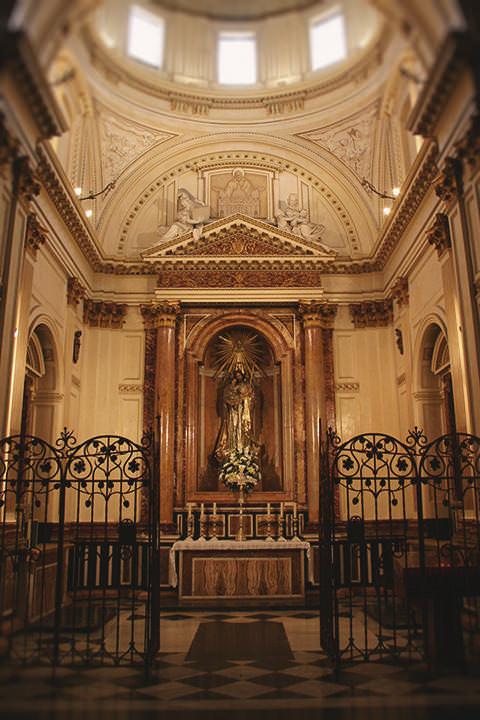 Capilla de San José en la Catedral de Valencia.