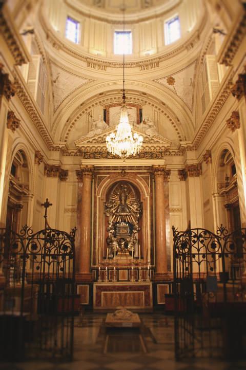 Capilla de Santo Tomás de Villanueva en la Catedral de Valencia.