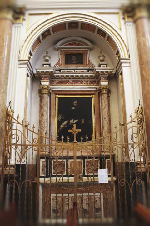 Capilla de Santo Domingo de Guzmán en la Catedral de Valencia.