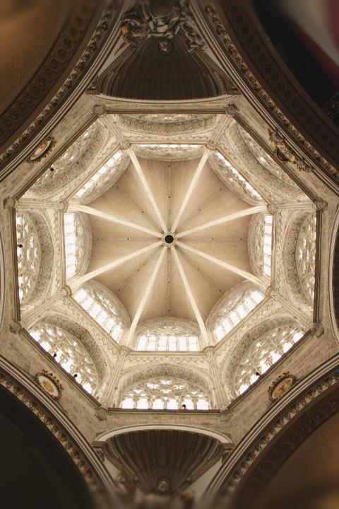 El Cimborrio de la Catedral de Valencia.