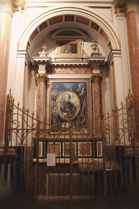 Capilla de la Beata Josefa Naval Girbes en la Catedral de Valencia.