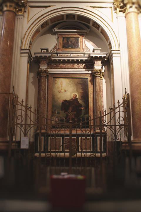 Capilla de San Pascual Bailón en la Catedral de Valencia.