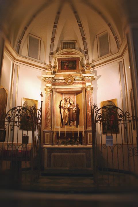 Capilla de San Rafael, Arcángel en la Catedral de Valencia.