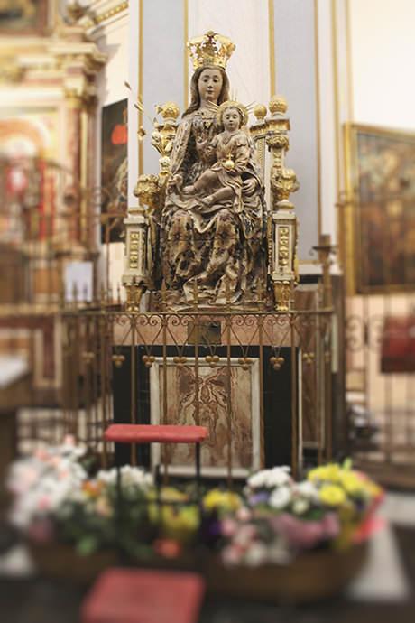 Virgen Del Coro De La Cadira Museo Catedral De Valencia
