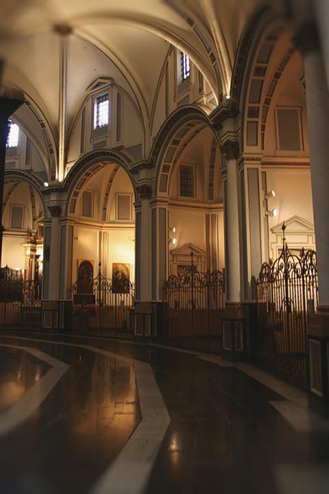 La Girola de la Catedral de Valencia.