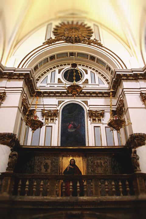 El Trasaltar en la Catedral de Valencia.