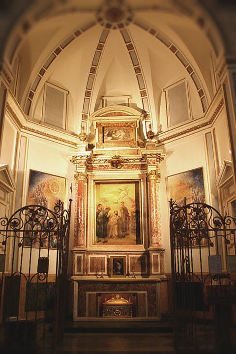 Capilla de San Jacinto María Castañeda en la Catedral de Valencia.