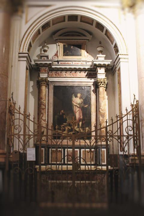 Capilla de San Francisco de Asís en la Catedral de Valencia.