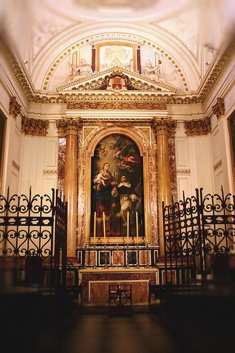 Capilla de San Vicente Ferrer en la Catedral de Valencia.