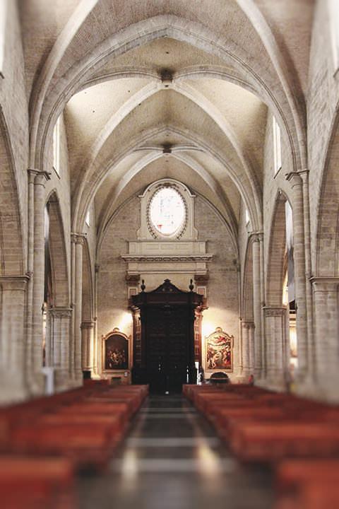 Las Naves de la Catedral de Valencia.
