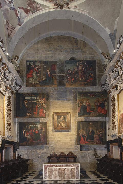 Capilla de San Pedro en la Catedral de Valencia.