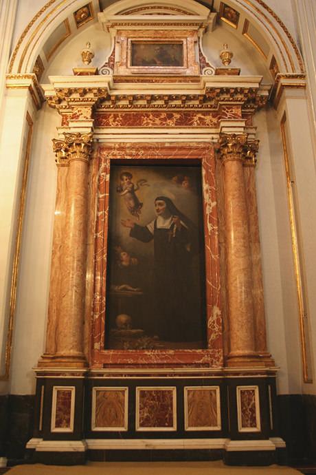 Beata Josefa María de santa Inés, religiosa agustina descalza.