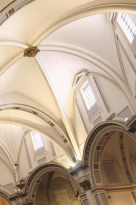 La girola es la parte más antigua de la catedral, por donde comenzó su construcción en el año 1262.