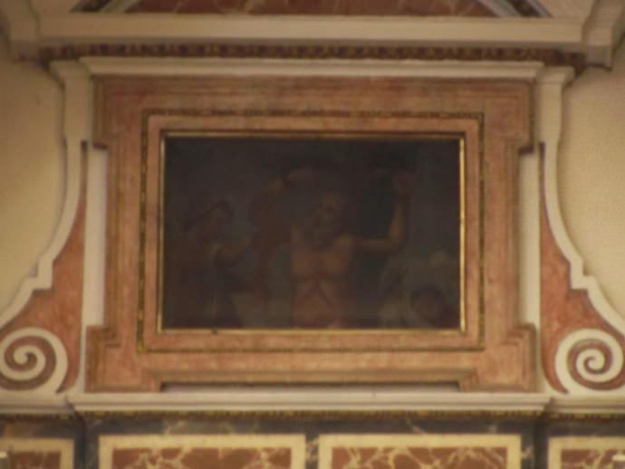 Martirio de san Lorenzo, diácono.
