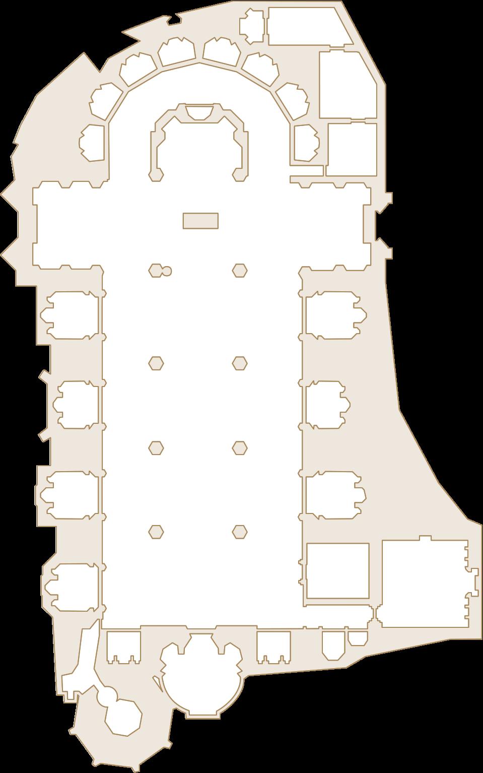 Vidriera con Parejas - Museo Catedral de Valencia