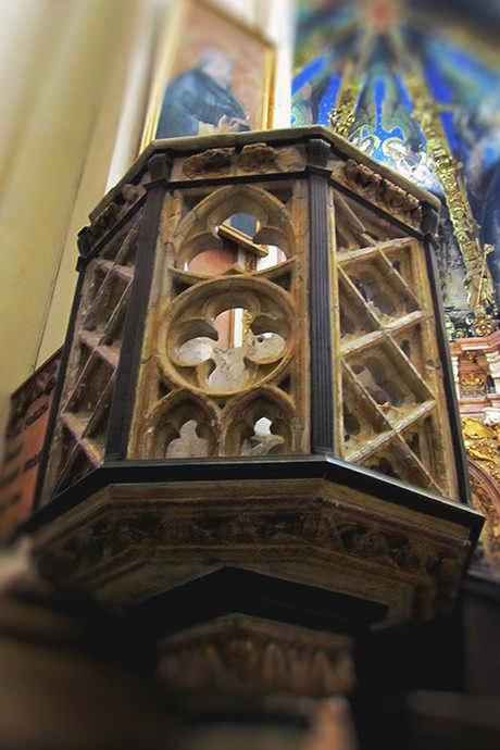 Púlpito de san Vicente Ferrer.