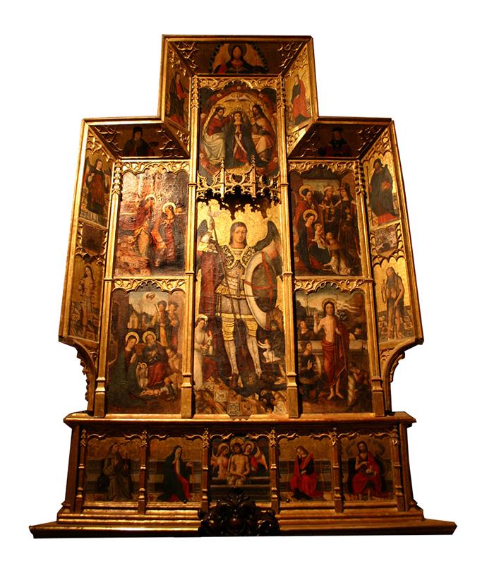 Retablo de San Miguel (Comienzos del siglo XVI).