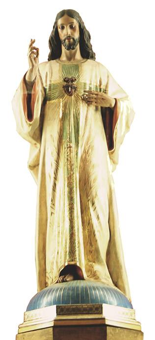 Imagen del Sagrado Corazón de Jesús.