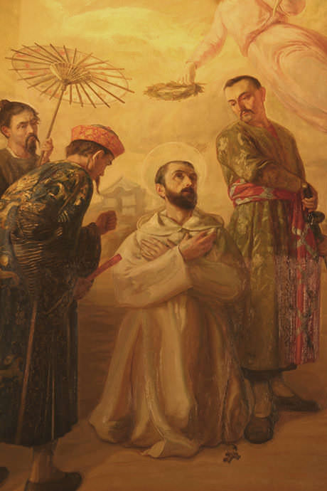 Martirio de san Jacinto María Castañeda