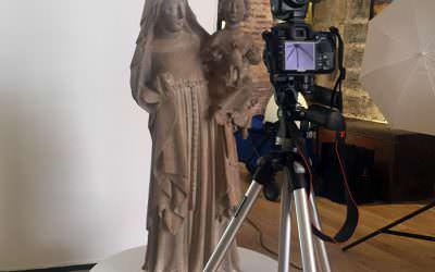 Una copia digital de la Virgen del Museo