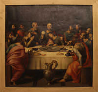 La última Cena - Juan de Juanes — Siglo XVI.