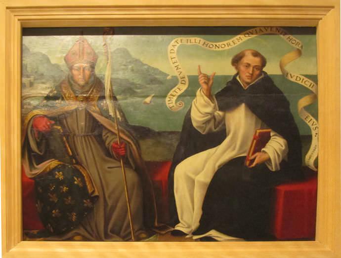 San Luis obispo y san Vicente Ferrer.