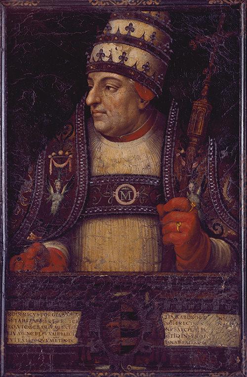 Rodrigo de Borja, Papa Alejandro VI.