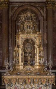 Custodia procesional del Corpus Christi del Museo Catedral de Valencia.