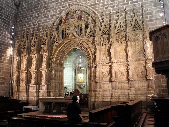 La catequesis bíblica del retablo del Santo Cáliz